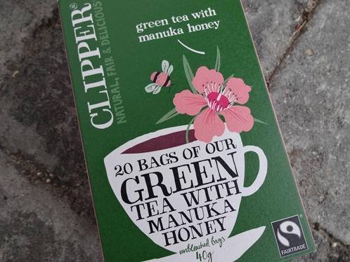Clipper Green Tea with Manuka honey