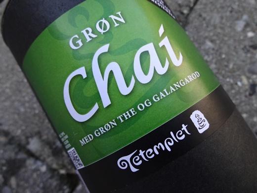 Grøn Chai Latte 1