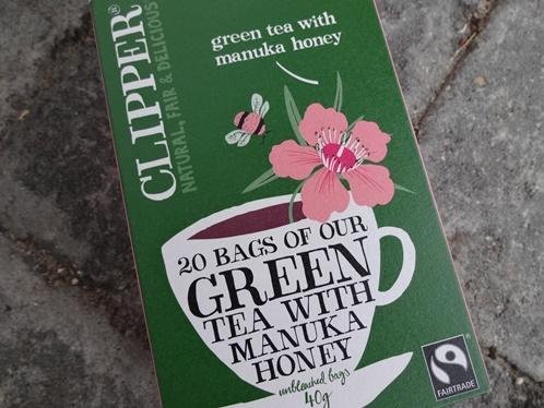 Clipper Green Tea with Manuka honey