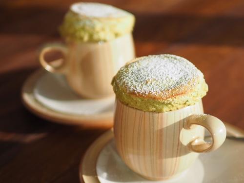 Grøn Te Souffle