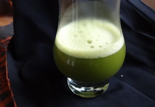 Matcha tepulver Clearspring glas