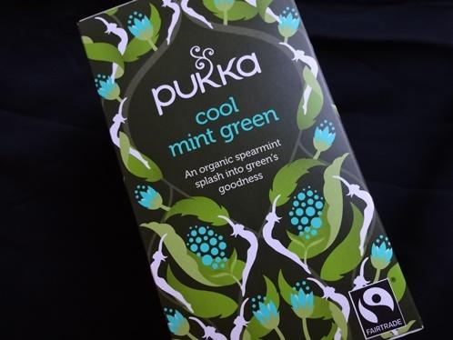 Pukka cool mint green