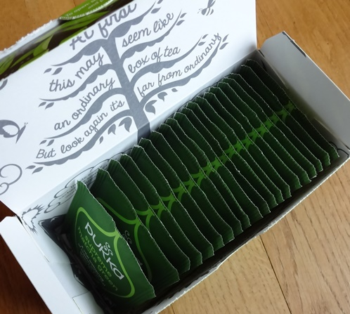 Pukka supreme matcha green box